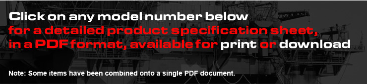 Click the item below for the brake or rotor PDF you wish to print or download.